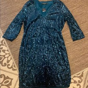 Fabulous sequin dress ready for a special evening